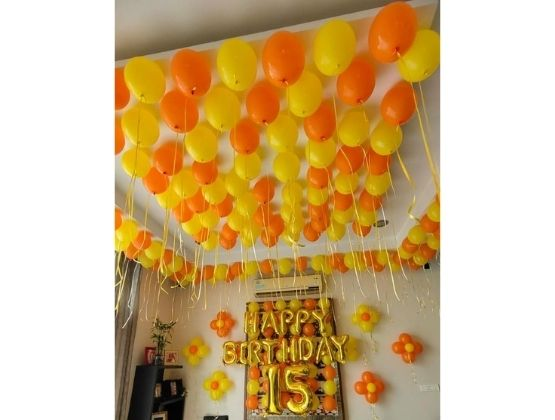 Delight Birthday Balloon Decor