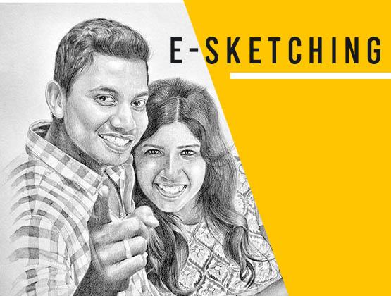 Handmade E-Sketching
