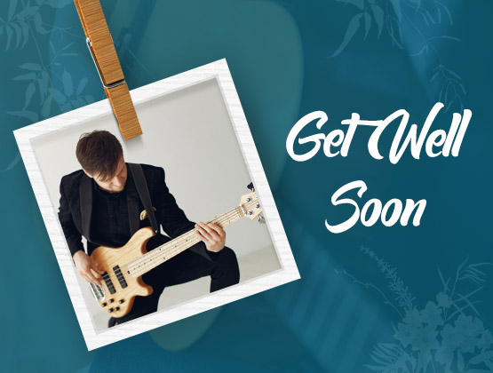 Get Well Soon Musical Notes