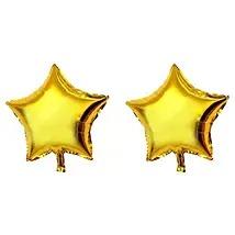Golden Star Balloons