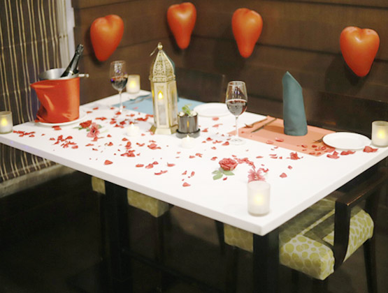 Rekindle love by taking your partner to a romantic candlelight dinner and spend some quality time with them.