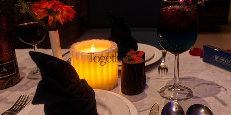 V Day Saline Candlelight