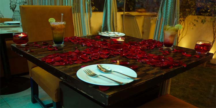 Romantic Lunch Dining
