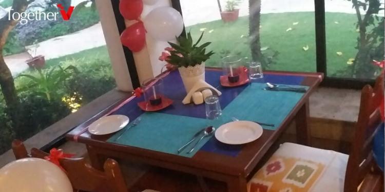 Poolside Candlelight Dinner Goa