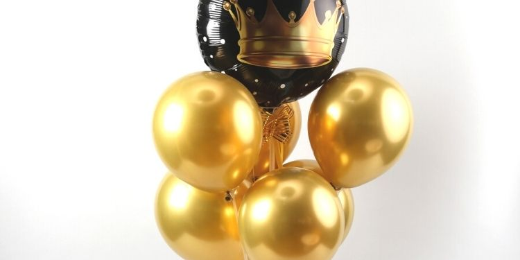 Special Crown Balloon Bouquet