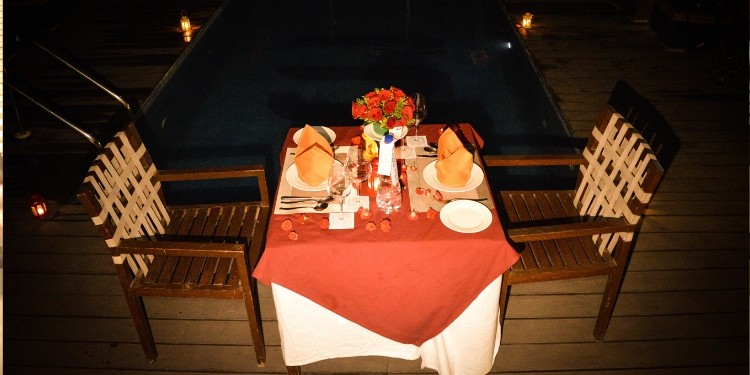 Private Poolside Dining