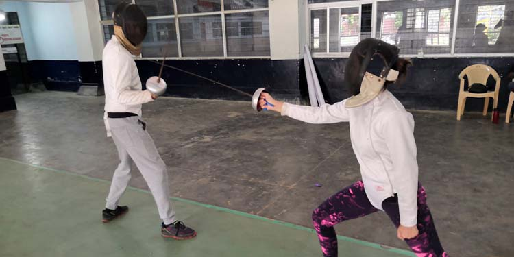 Fencing is a daring, risk-taking, thrilling and enthusiastic game which you can play with your friends, family, and love