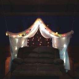 Cozy Tent Setup