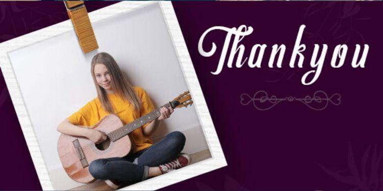 Musical Thankyou
