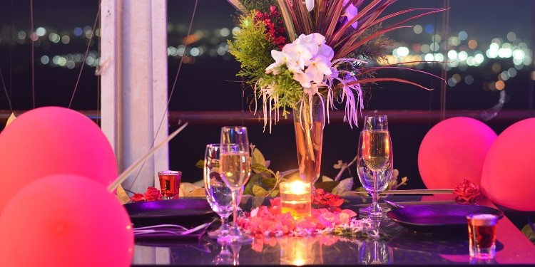 Experience divinity within at a serene ambience of Restaurant